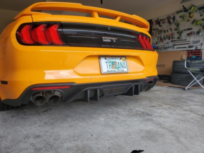 MP CONCEPTS Rear Diffuser (MUSTANG 18-20 GT Premium, EcoBoost Premium)