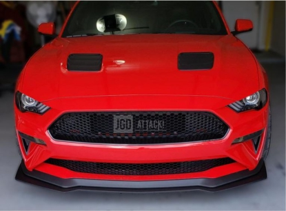 Upper And Lower Grille BULLITT Style (MUSTANG 18-20 GT, EcoBoost)