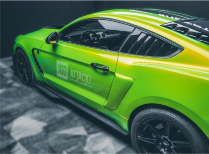 GT500 Style Side Skirts (MUSTANG 15-20 Ecoboost, V6, GT)
