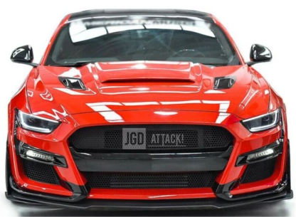 IKON GT500 Style Front Bumper - Unpainted (MUSTANG 15-17 EcoBoost, V6, GT)