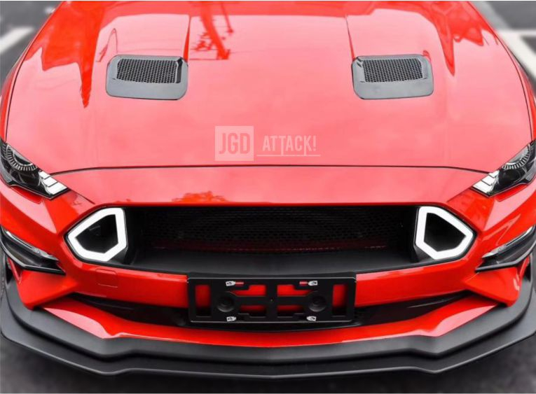 RTR LED Upper Grille (MUSTANG 18-20 Ecoboost, GT)