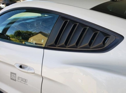 SpeedForm Vintage Quarter Window Louvers (MUSTANG 15-21 Fastback)