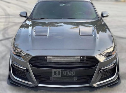 IKON GT500 Style Front Bumper - Unpainted (MUSTANG 18-20 EcoBoost, GT)