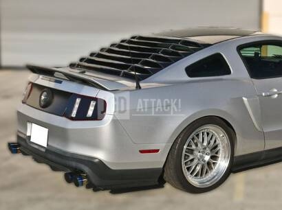 IK Style Rear Window Louvers (MUSTANG 05-14 Coupe)