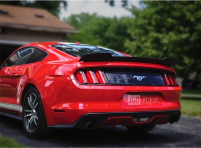 Blade Rear Spoiler NASCAR - Matte Black (MUSTANG 15-20 all)