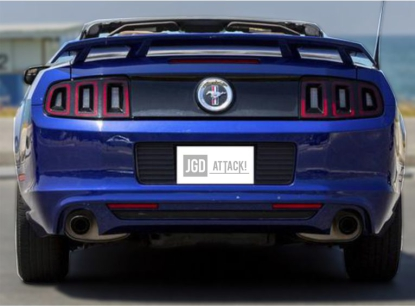 GT/CS Rear Spoiler Matte Black (MUSTANG 10-14 all)