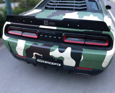 Wicker Bill For R/T Scat Pack Trunk Spoiler (CHALLENGER 08-19 all)