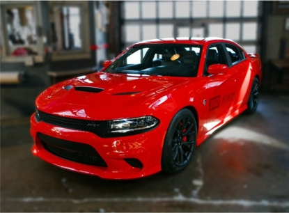 SRT Style Conversion Front Bumper (CHARGER 15-20)