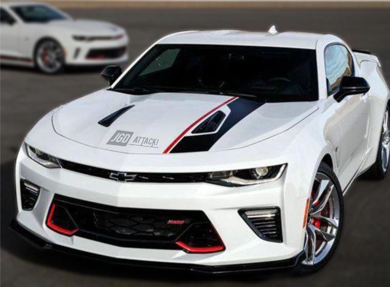 Lower Grille with Red Accent (CAMARO 16-18 SS)