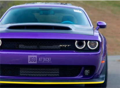 Front Bumper Lip Splitter Guard  (CHALLENGER 15-19 Demon)