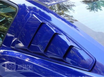 MMD Quarter Window Scoops (MUSTANG 05-14 Fastback)