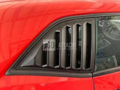 SpeedForm Quarter Window Louvers (CHALLENGER 08-21)