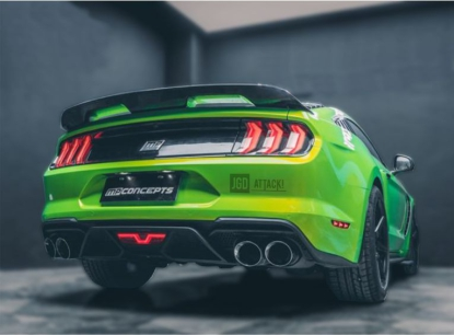 GT500 Style Rear Diffuser (MUSTANG 18-20 GT Premium, EcoBoost Premium)