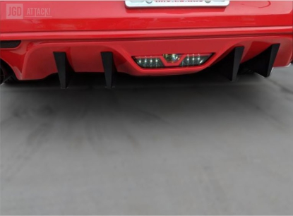 MP Concepts Rear Diffuser Fins (MUSTANG 15-17 BASE)