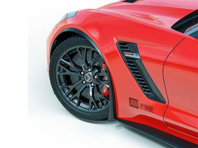 Mud Flaps Front and Rear - Set (CORVETTE 14-19)