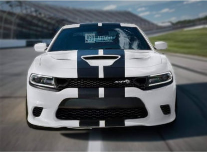 SRT8 HELLCAT 2019 Style Conversion Front Bumper (CHARGER 15-20)