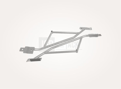 STEEDA Rear IRS Subframe Support Braces (MUSTANG 15-20 Fastback)
