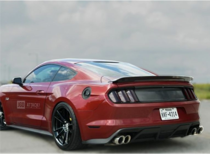 Full Replacement Decklid Panel - Carbon Print (MUSTANG 15-20 all)