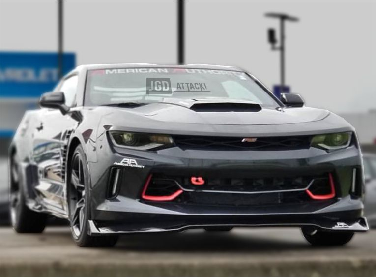 Lower Grille with Red Accent (CAMARO 16-18 LT/RS)
