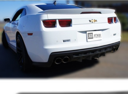 Quad Exhaust Rear Diffuser With Fins ZL1 Style (CAMARO 10-13)
