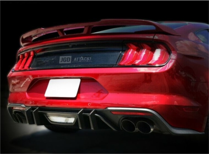 COMPETITION Style Rear Diffuser (MUSTANG 18-20 GT Premium, EcoBoost Premium)