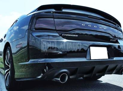 SRT V2 IKON Rear Bumper Lower Diffuser (CHARGER 12-14 SRT)
