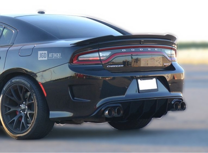 SRT OE Style Quad Exhaust Rear Bumper Lower Diffuser (CHARGER 15-20 SRT)
