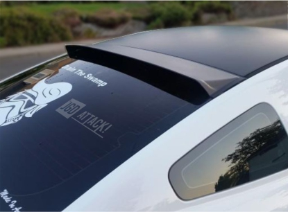 MMD Rear Roof Window Visor Spoiler (MUSTANG 05-14 Coupe)