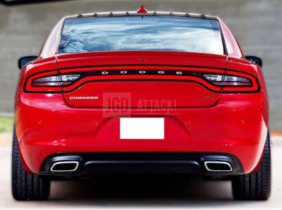 Shark Style Roof Window Spoiler (CHARGER 11-20 All)