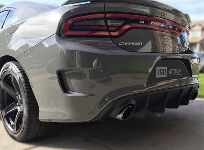 SRT OE Style Rear Bumper Lower Diffuser (CHARGER 15-20 SRT)