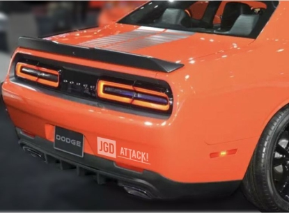 IKON Style Rear Bumper Lower Diffuser (CHALLENGER 15-21)