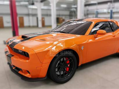 Wide Body Fender Flares Set (CHALLENGER 15-21 HELLCAT)